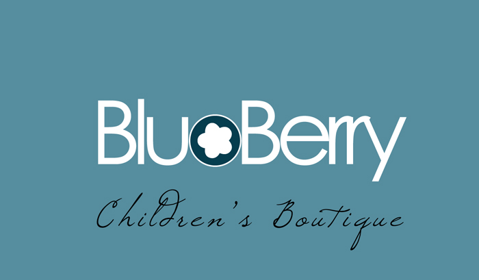 logo for Blu Berry Children Boutique